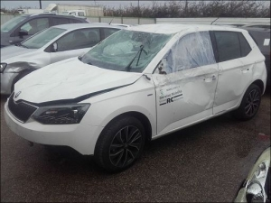Voiture accidentée : SKODA FABIA
