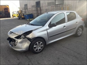 Voiture accidentée : PEUGEOT 206