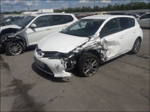 Voiture accidentée : TOYOTA AURIS