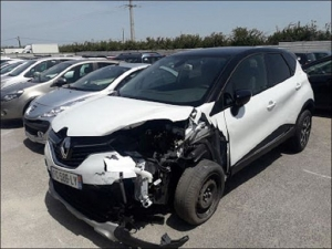 Voiture accidentée : RENAULT CAPTUR