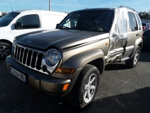 Voiture accidentée : JEEP CHEROKEE